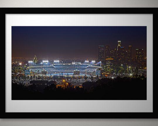 Dodger Stadium Print